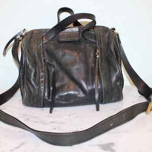 MARC JACOBS moto duffle barrel crossbody bag
